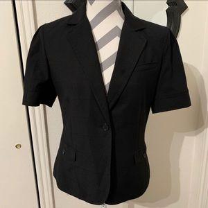 Calvin Klein Short Sleeve Black Blazer.